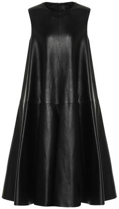 Loewe Leather dress