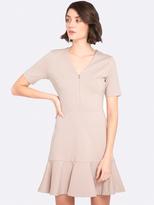Oxford Luna Ponti Mini Dress