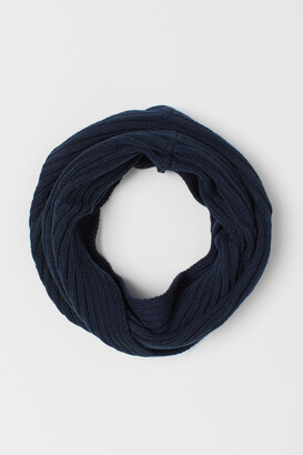 H&M Knit Tube Scarf - Blue