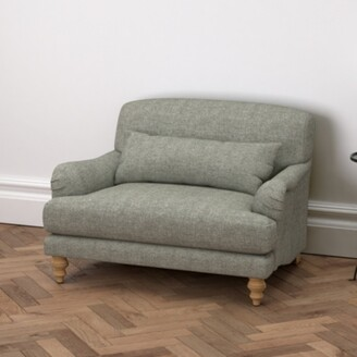 The White Company Natural Oak Leg, Tweed Mid Grey, One Size