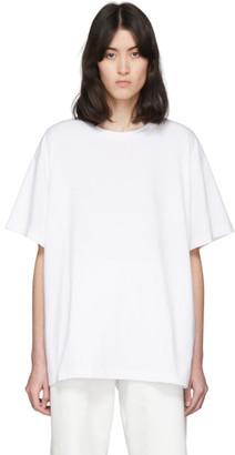 MM6 MAISON MARGIELA White Back Patch T-Shirt