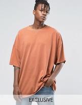 Reclaimed Vintage Super Oversized T-Shirt In Overdye