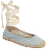 Soludos Women's Ankle Tie Espadrille Flat