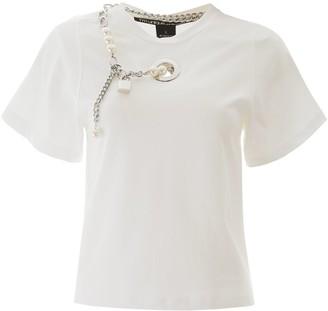 Pinko Pearl Embellished T-Shirt