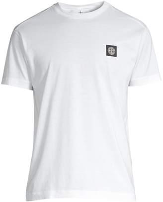 Stone Island Classic-Fit Logo Cotton Tee