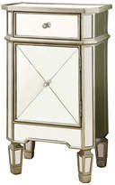 Monarch Brushed Mirror Accent Cabinet
