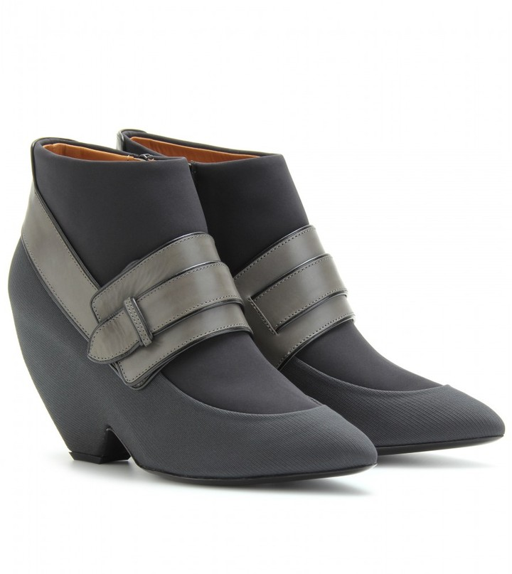 Balenciaga ARCADE BELTED ANKLE BOOTS