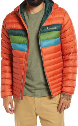 Cotopaxi Fuego Hooded Water Resistant Down Jacket