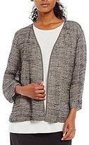 Eileen Fisher Kimono 3/4 Sleeve Jacket