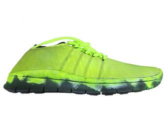 Maison Margiela Green Cloth Trainers