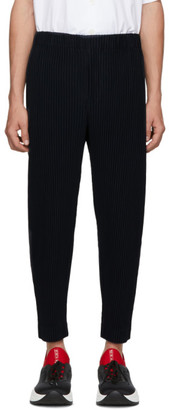 Issey Miyake Homme Plisse Blue MC June Trousers