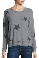 Sundry Star Crop Pullover