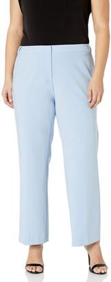Calvin Klein Women's Plus Size Lux Highline Pant with Button Closure