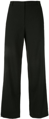 Dion Lee tailored mesh insert trousers