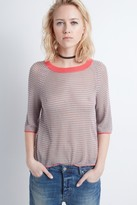 Zadig & Voltaire Rage Fishnet Crl Sweater