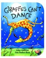 """Scholastic """"Giraffes Can't Dance"""" Board Book by Giles Andreae"""