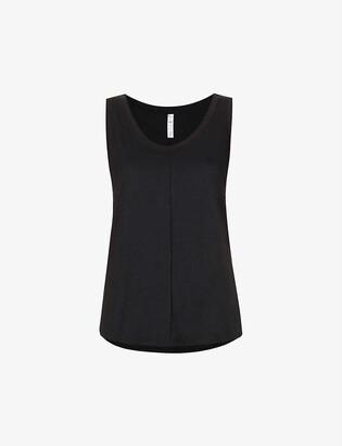 Alo Yoga New Moon branded stretch-jersey vest