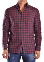 DSQUARED2 Men's Multicolor Cotton Shirt.