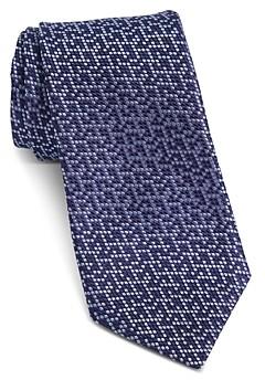John Varvatos Fillmore Shaded Dots Silk Classic Tie