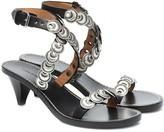 Isabel Marant Jieva embellished leather sandals