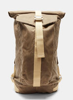 Bedouin Men's Ottoman Roll Top Backpack In Khaki