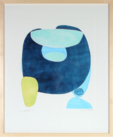 "Serena & Lily ""Sea Stones III"" by Rob Delamater"