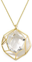 Ippolita Rock Candy 18k Large Geometric Quartz Pendant Necklace