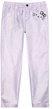 Hello Kitty Little Girls Metallic Pants