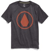 Volcom Boy's Solid Stone Graphic T-Shirt