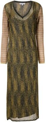 Nk Xanti jacquard maxi dress