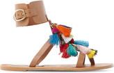 Steve Madden Tassel fabric sandals