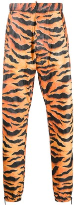DSQUARED2 Tiger-Print Track Pants