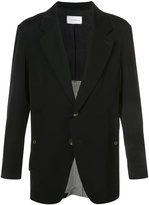 Song For The Mute photo print blazer