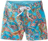 Kanu Surf Little Girls' Caroline UPF 50+ Board Short