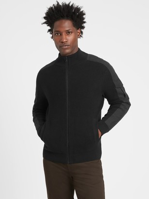 Banana Republic Utility Sweater Jacket