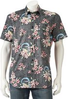 Men's Floral Button Down Shirt - ShopStyle