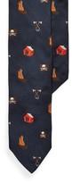 Ralph Lauren Camping Silk Narrow Tie