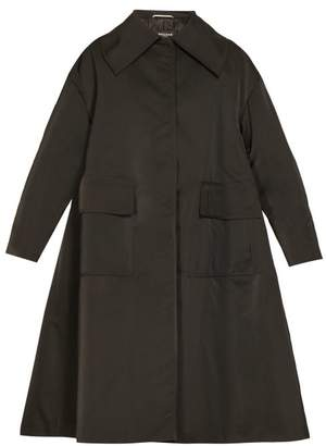Rochas Pesaro Patch Pocket Radzmir Coat - Womens - Black