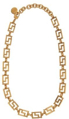 Versace Greca Chain Necklace - Gold