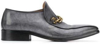 Marni Chain Square Toe Loafers