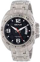 Sector Men's R3253573003 Racing 600 Analog Stainless Steel Watch