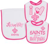 Gerber New Orleans Saints Burp Cloth Set
