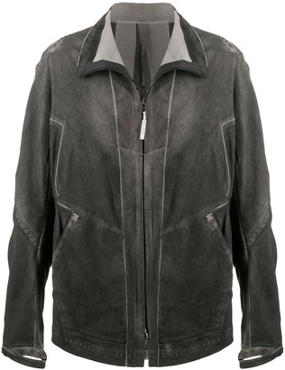 Isaac Sellam Experience Malfrat leather jacket