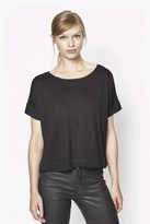 French Connection Penny Cap Sleeve Top