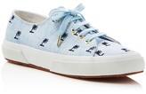 Superga Jennifer Meyer Collection Linembrw Palm Tree Lace Up Sneakers