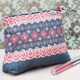 Caro London Tall Make Up Bag In Solero Prints