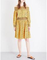 MICHAEL Michael Kors Finley off-the-shoulder crepe dress