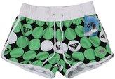 YOUJIA Women Boardshorts Beach Short Pants Casual Print Swimming Trunks (S,)