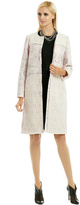 Peter Som Shimmer Tweed Coat