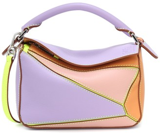 Loewe Paula's Ibiza Puzzle Mini leather shoulder bag